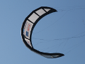 The 25m2 LEI tube kite of TU Delft during flight